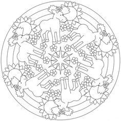 Mandala enfant: 25 idées originales à emprunter et à imprimer!