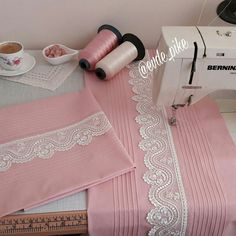 Duvet Bedding, Linen Bedding, Embroidery Suits, Hand Embroidery, Silk Rose Petals, Makeup Looks Tutorial, Heirloom Sewing, Knitting Stitches, My Baby Girl