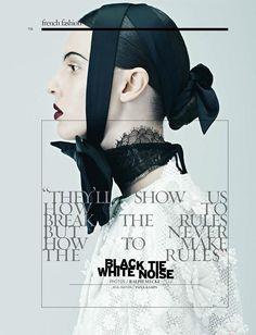 Black Tie White Noise (French Revue de Modes)