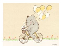 Elly & Bunny bicycle