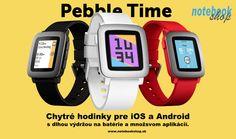 Hodinky Pebble Time sú vynikajúcim doplnkom k smartfónu, ktorá Vám pomôže lepšie zorganizovať život. Na rozdiel od iných typov smart hodiniek Pebble nemusíte nabíjať každý deň. vydržia totiž až 7 dní na batérie.