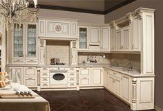 Кухни из массива : Набор мебели ЭЛИТ для кухни