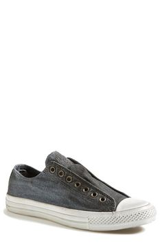 Free shipping and returns on Converse Chuck Taylor® All Star® Laceless Sneaker (Men) at Nordstrom.com. Textured canvas forms a versatile sneaker fitted with elastic to be worn without laces.