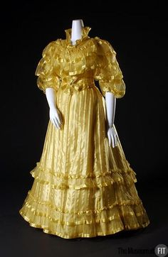Evening Dress Charles Fredrick Worth, 1892 The Museum at FIT