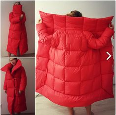 Keep the cold and haters out with these trendy coats and jackets. Diy Fashion, Winter Fashion, Fashion Outfits, Womens Fashion, Fashion Design, Sewing Clothes, Diy Clothes, Blanket Coat, Warm Coat