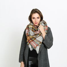 >> Click to Buy << 2016 hot and cold winter scarves scarves thicker plaid scarf super scarves  Lattice square #Affiliate