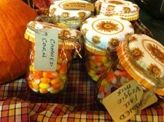 Cute fall gift idea! Cannedy Corn – A very corny project by timber creek farm