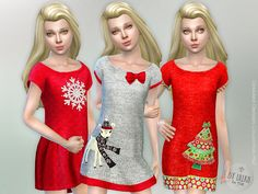 The Sims Resource: Designer Dresses Collection P62 by lillka • Sims 4 Downloads