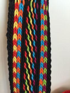 OOAK Mochila bag Wayuu technique tapestry by creaconlemani Tapestry Bag, Tapestry Crochet, Loom, Colours, Purses, Classic, Crochet Bags, Cotton, Wallets