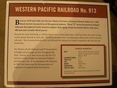 Western Pacific No. 913 GM-EMD...