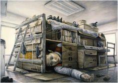 Una Ventana al Mundo: La pintura surrealista de Tetsuya Ishida