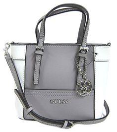 c0ca9485f2 GUESS Women's Delaney Mini Tote Bag, Dove Multi Sacs À Main De Guess,  Pochettes