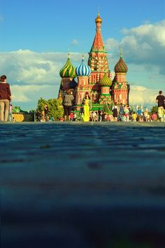 Moscow is probably one of the most beautifully grand cities in the world. I recommend it to anyone.