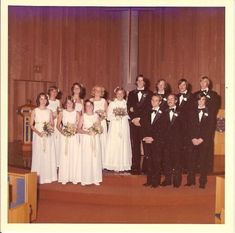 The first wedding where I was in the wedding party was on July 31 1976. I was the groom. It was the day I married Mary. The smartest thing I ever did. I didnt know what to expect. I had only witnessed one wedding before this day. All this had also happened pretty quickly. I had moved from my hometown of San Diego to attend Cal State Chico in fall 1975. Within a month I had met Mary. It didnt take me long to realize she was the kindest wisest most compassionate woman I had ever known. ... #father Wedding Attire, Wedding Gowns, Wedding Parties, Brides And Bridesmaids, Bridesmaid Dresses, Father Of The Bride Outfit, Old Fashioned Wedding, 1970s Wedding, Wedding Stills