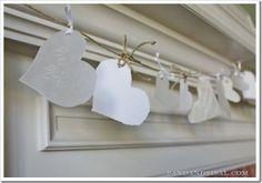Valentine Craft - Heart Banner