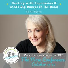 Ever dealt with depression and life bumps?  One Good Thing By Jillee is going to share her amazing story how she overcame depression and addiction at The Mom Conference.  The Mom Conference is FREE to attend from October 31-15th online!