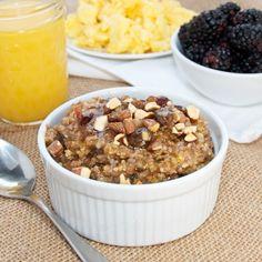 Bulgar Breakfast Cereal {Sweet Pea's Kitchen}