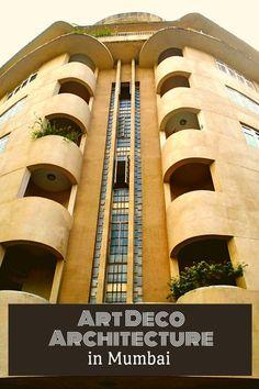 Art Deco Architecture in Mumbai - indiapalette.com India Travel Guide, Asia Travel, Travel Usa, Gothic Buildings, Art Deco Buildings, Art Deco Movement, Travel Inspiration, Travel Ideas, Travel Tips