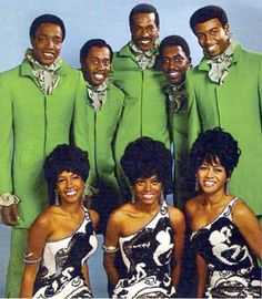 Motown royalty: The Temptations & The Supremes