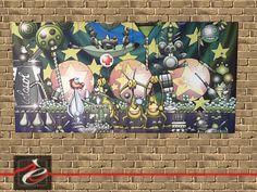 """quadri """" Foffo e gli Alieni 1 e 2 """" di Simone Lucchesi"""