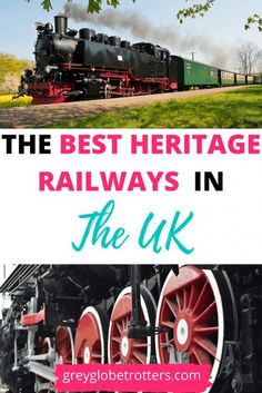 Do you love train travel? Maybe you hanker for the romance of steam trains? The UK has 119 heritage railways to choose from - here are 10 of the best #heritagerailway #history #preservedrailway #steamtrain #uktravel #traintravel Europe Train Travel, Travel Through Europe, Europe Travel Guide, Travel Around The World, Travel Couple, Family Travel, Heritage Railway, British Travel, Countries To Visit