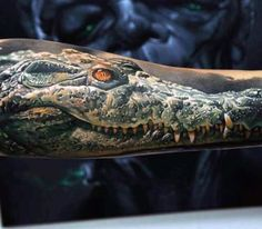 60 Alligator Tattoo Designs For Men