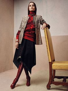Beyond retro ............ Vogue China october 2015 - withoutstereotypes