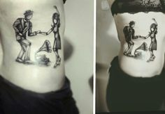 dancing, swing tattoo :) :)