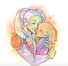 Hera and Kanan's daughter!! So cute!