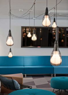 Inspiration: Offices Accented In Blue - Office Snapshots