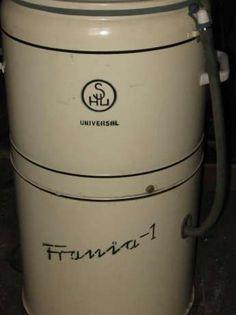 Frania Universal z grzałką, 1965r Good Old Times, Retro, Childhood Memories, Vintage, Tin Cans, Historia, Poland, History, Vintage Comics
