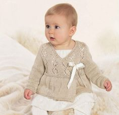 Baby Ballerina Wrap, Baby Knits, Baby Girl Knits, Sizes from Newborn, Baby Shower Gift, Flower Girl on Etsy, $22.00