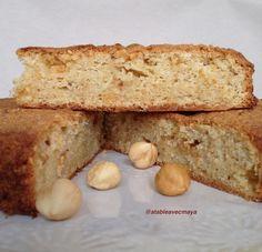 Gâteau aux noisettes et zestes d'orange. La recette ici: http://www.atableavecmaya.com/recettes/gateau-aux-noisettes-et-zestes-dorange/