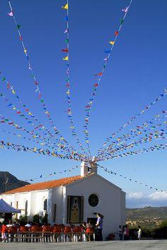 la novena della Monserrata a Oliena, Sardegna