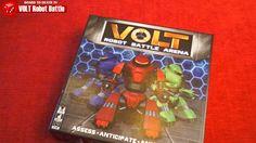 Volt Robot Battle Arena Board Game Review