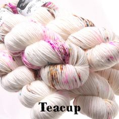 Skinny Singles Hedgehog Fibres, Yarn Inspiration, Colorful Socks, Finger Weights, Hand Dyed Yarn, Crochet Shawl, Unique Colors, Wool Yarn, Teacup