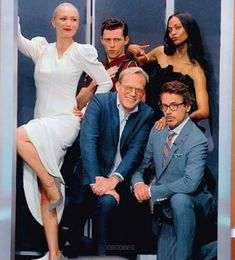Here we see Mantis Gamora Spider-Man Iron Man and Vision together! Marvel Actors, Marvel Heroes, Marvel Dc, Marvel Comics, Mantis Marvel, Saga, All Avengers, Antman And The Wasp, Stark Industries