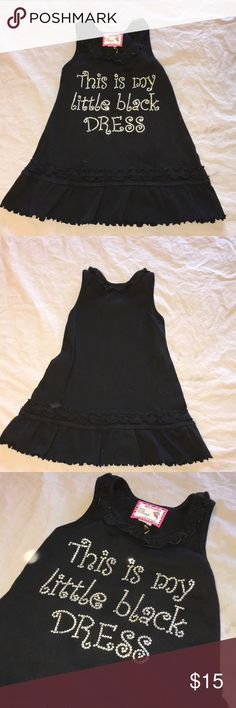 This is my Little black dress size 12-18 months Like new! born 4 couture Dresses Casual