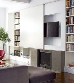 Le meuble télé en 50 photos, des idées inspirantes! | Salons, Sous ...
