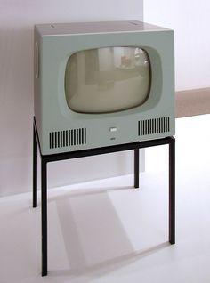 TV HF 1 by Herbert Hirche - braun