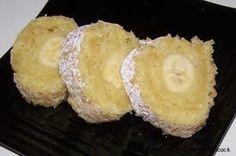 Pudding Banana Roll