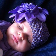 Photo of a beautiful sleeping baby