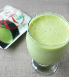 A refreshing matcha green tea shake made with natural whey protein for added benefits.