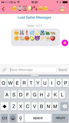 Secretmoji for iOS hides your chats as strings of emoji