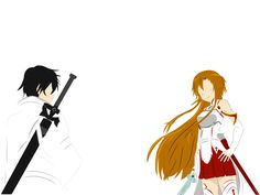 Kirito + Asuna (Sword Art Online) by Rori-san on DeviantArt
