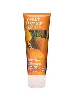 This natural hand cream is another product that sadly doesn't smell very pumpkin-y (we found it to be more reminiscent of a watered-down orange popsicle). But it contains pumpkin extract, moisturizes without leaving hands slippery, and comes in a generously portioned tube, so we're willing to cut it some slack.