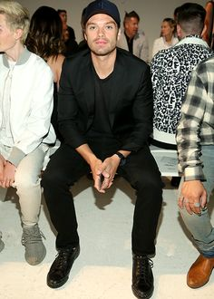 Sebastian Stan attends the Todd Snyder fashion show during New York Fashion Week: Men's S/S 2017 on July 14, 2016 in New York City.