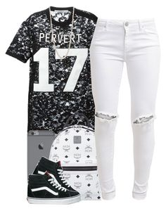 """""""6/14/15"""" by queenbrittani ❤ liked on Polyvore featuring Givenchy, MCM, FiveUnits, Vans and Phillips House"""