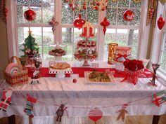 Christmas Sweets Table