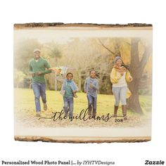 Personalized Wood Photo Panel | Family Name Art Prints For Sale, Framed Art Prints, Ronnie Wood Art, Robert Wood, Grant Wood, Duck Art, Ashley Wood, Family Print, Photo On Wood